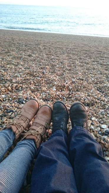 Of course coming to Brighton means a trip to the beach